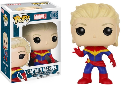 Ultimate Funko Pop Captain Marvel Figures Checklist and Gallery 1