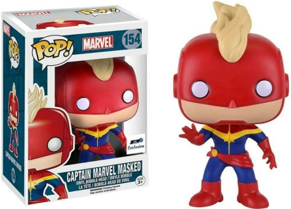 Ultimate Funko Pop Captain Marvel Figures Checklist and Gallery 2