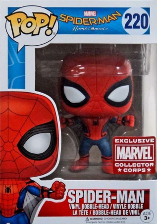 Funko Pop Spider-Man Homecoming Vinyl Figures 4