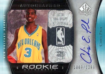 Top 10 Chris Paul Rookie Cards 7