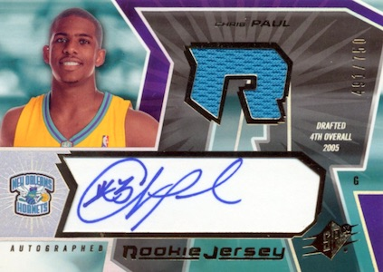 Top 10 Chris Paul Rookie Cards 6