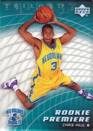 Top 10 Chris Paul Rookie Cards 3