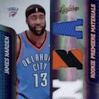 Top 10 James Harden Rookie Cards