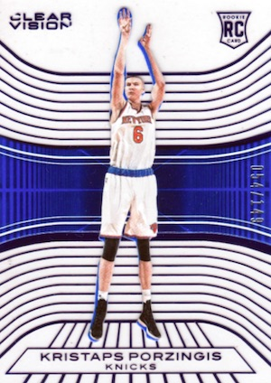 Kristaps Porzingis Rookie Cards Guide and Checklist 8