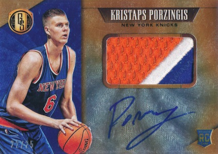 Kristaps Porzingis Rookie Cards Guide and Checklist 22