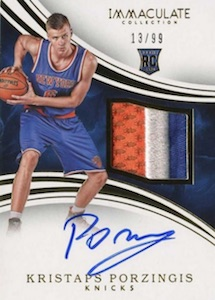 Kristaps Porzingis Rookie Cards Guide and Checklist 23