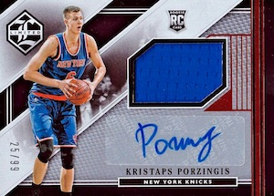 Kristaps Porzingis Rookie Cards Guide and Checklist 25