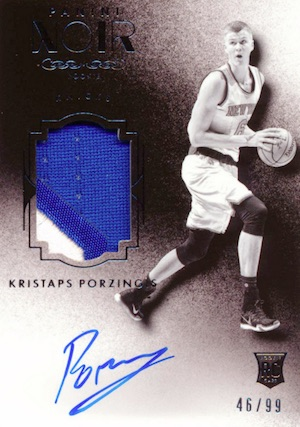 Kristaps Porzingis Rookie Cards Guide and Checklist 33