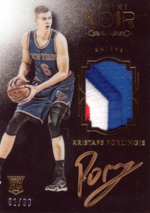 Kristaps Porzingis Rookie Cards Guide and Checklist 34