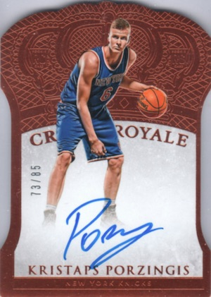Kristaps Porzingis Rookie Cards Guide and Checklist 37