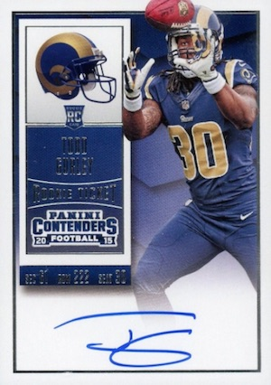 Todd Gurley Rookie Cards Guide and Checklist 6