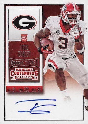 Todd Gurley Rookie Cards Guide and Checklist 8