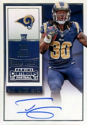 Todd Gurley Rookie Cards Guide and Checklist 7