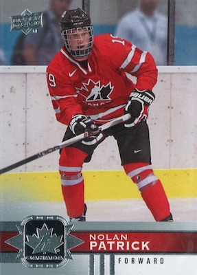 2017-18 Upper Deck Canadian Tire Team Canada Hockey Cards 22
