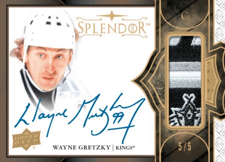 2017-18 Upper Deck Splendor Hockey Cards 4