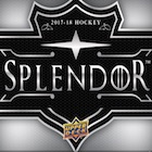 2017-18 Upper Deck Splendor Hockey Cards