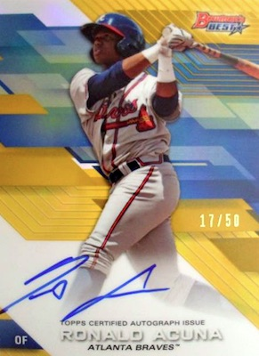 2017 Bowman's Best Baseball Cards 5