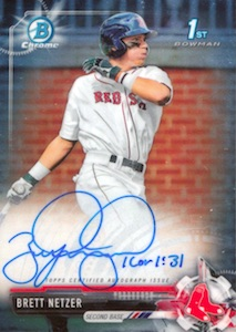 Ultimate 2017 Bowman Chrome Prospect Autographs Breakdown 9