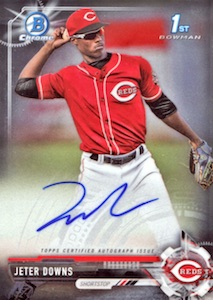 Ultimate 2017 Bowman Chrome Prospect Autographs Breakdown 37