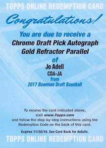 Ultimate 2017 Bowman Chrome Prospect Autographs Breakdown 38