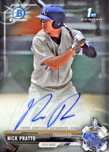 Ultimate 2017 Bowman Chrome Prospect Autographs Breakdown 57