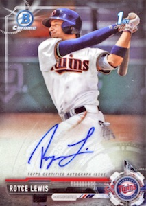 Ultimate 2017 Bowman Chrome Prospect Autographs Breakdown 63