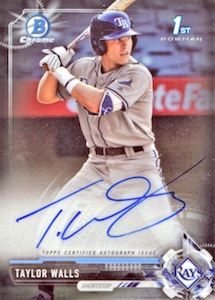 Ultimate 2017 Bowman Chrome Prospect Autographs Breakdown 70