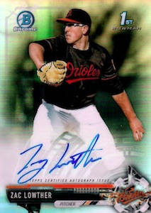 Ultimate 2017 Bowman Chrome Prospect Autographs Breakdown 75