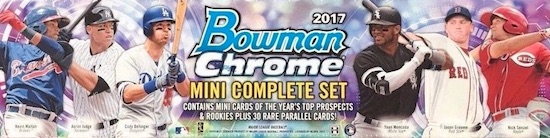 2017 Bowman Chrome Mini Baseball Cards 4