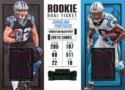 2017 Panini Contenders Football Cards - SP/SSP Rookie Ticket Print Runs Added 40