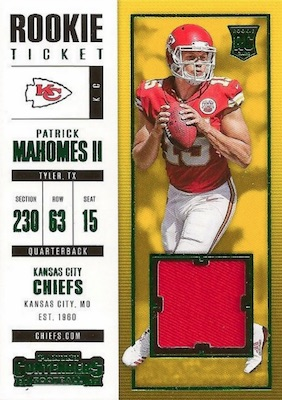 2017 Panini Contenders Football Cards - SP/SSP Rookie Ticket Print Runs Added 39