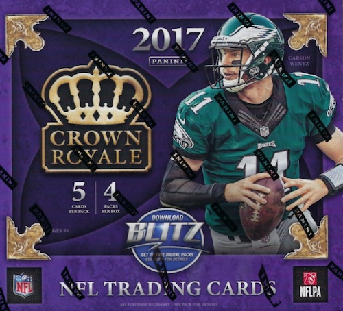 2017 Panini Crown Royale Football