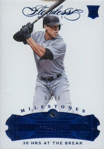 Aaron Judge Rookie Cards Checklist and Key Prospects 14