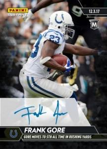 3d7e1ba4248 2017 Panini Instant NFL Football Checklist, Set Info, Autograph Details