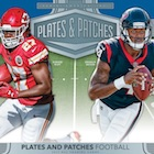 2017 Panini Plates & Patches Football Cards