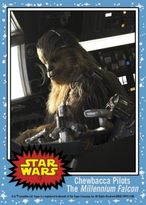 2017 Topps Countdown to Star Wars The Last Jedi Trading Cards 19