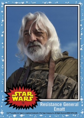 2017 Topps Countdown to Star Wars The Last Jedi Trading Cards 21