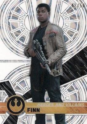 2017 Topps Star Wars High Tek Trading Cards 29