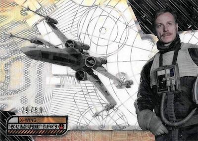 2017 Topps Star Wars High Tek Trading Cards 30