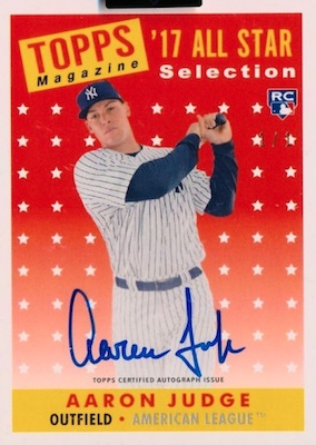 Aaron Judge Rookie Cards Checklist and Key Prospects 78