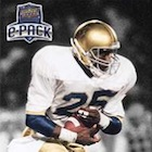 2017 Upper Deck Notre Dame 1988 Champions Football Cards