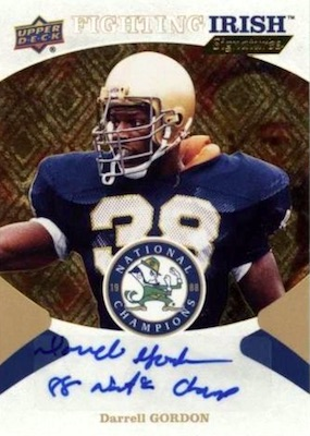 2017 Upper Deck Notre Dame 1988 Champions Football