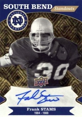2017 Upper Deck Notre Dame 1988 Champions Football Cards 30