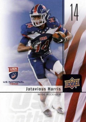 2017 Upper Deck USA Football Cards 2