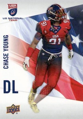 2017 Upper Deck USA Football Cards 32