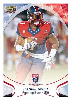 2017 Upper Deck USA Football Cards 26