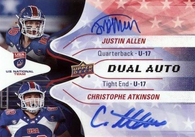 2017 Upper Deck USA Football Cards 28