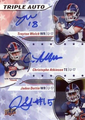 2017 Upper Deck USA Football Cards 29