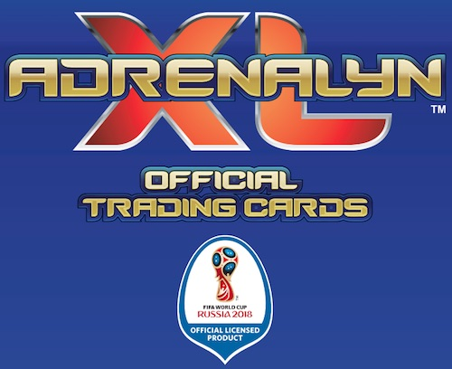 2018 Panini Adrenalyn XL World Cup Russia