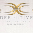 2018 Topps Definitive Collection Baseball Cards